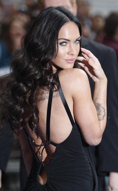 Megan Fox attends British premiere of
