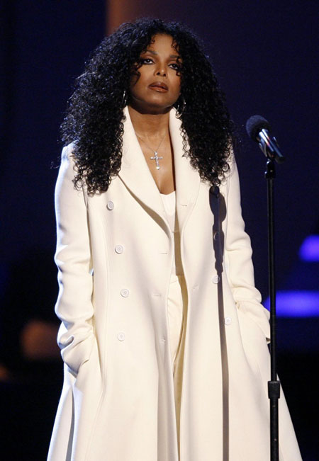Janet Jackson speaks at BET Awards '09 in Los Angeles