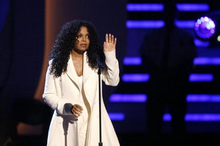 Janet Jackson speaks at BET Awards '09 in Los Angeles