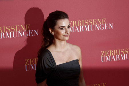 Penelope Cruz arrives to the German premier of the film