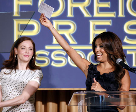 Stars attend HFPA Installation Luncheon in Beverly Hills
