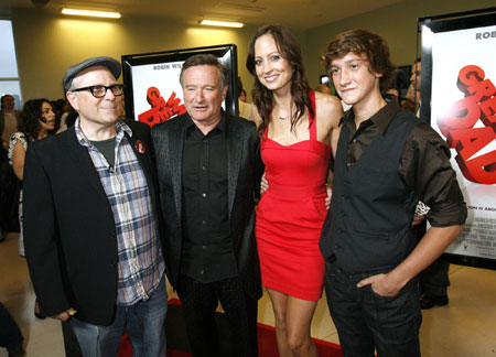Cast members at premiere of the film