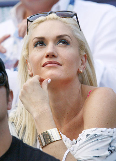 Gwen Stefani, Justin Timberlake seen at US Open tennis tournament