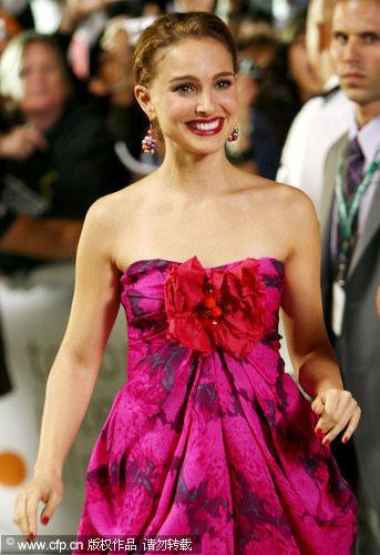 Natalie Portman arrives at the 34th toronto International Film Festival