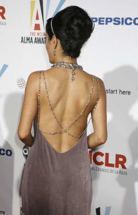 Celebs arrive at a taping of the 2009 ALMA Awards in Los Angeles