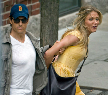 Tom Cruise and Cameron Diaz filming 'Wichita' in Boston
