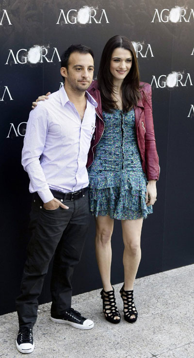 Rachel Weisz promotes film
