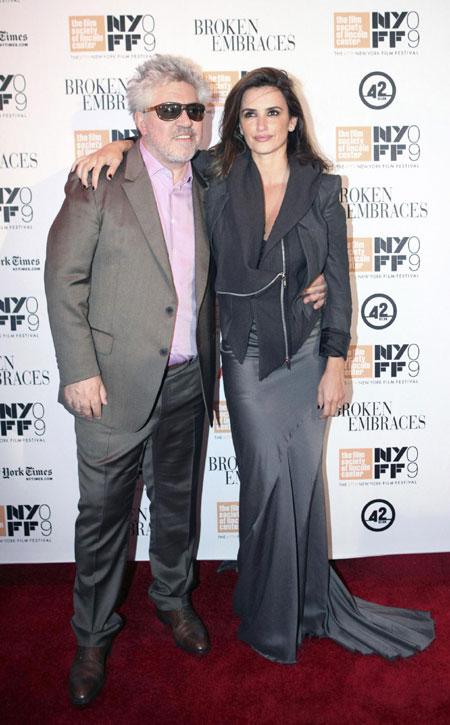 Penelope Cruz arrives at premiere screening of her movie