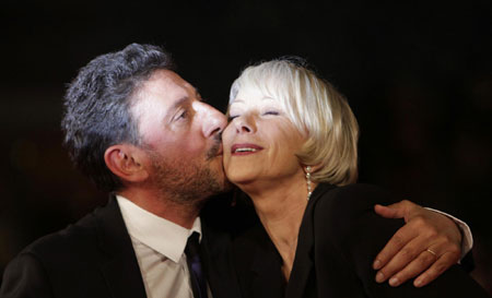 Helen Mirren,Meryl Streep and other celebs on red carpet at Rome Film Festival