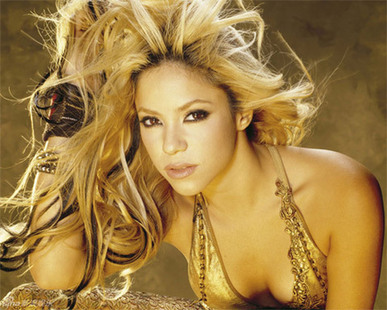 Scorching photoshoots of Shakira