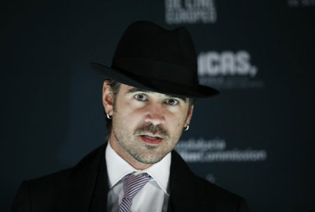 Colin Farrell at Sevilla European film festival