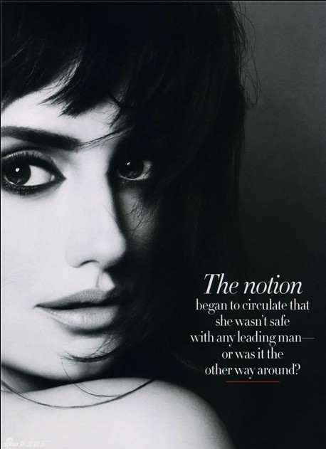Penelope Cruz covers vanity fair