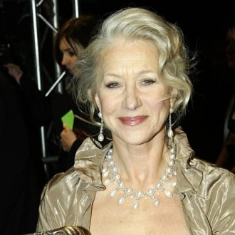 Dame Helen Mirren says getting naked has got easier as she gotten older.