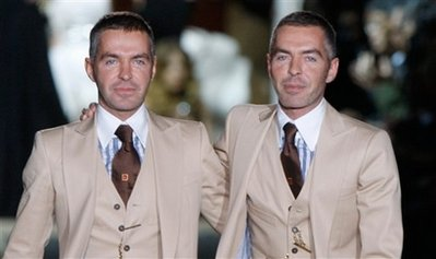 Dsquared2's Caten twins launching into limelight