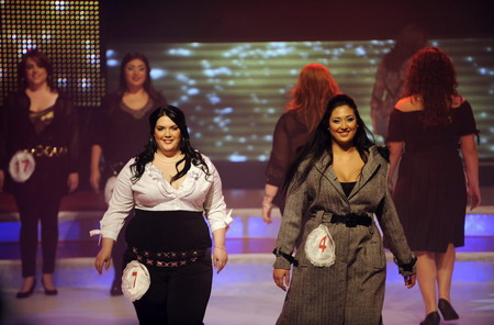 Annual 'Fat and Beautiful' beauty pageant held in Beersheba