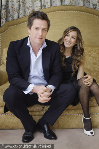 Hugh Grant and Sarah Jessica Parker shoot photo album