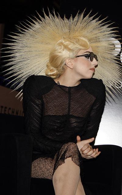 Lady Gaga's wig