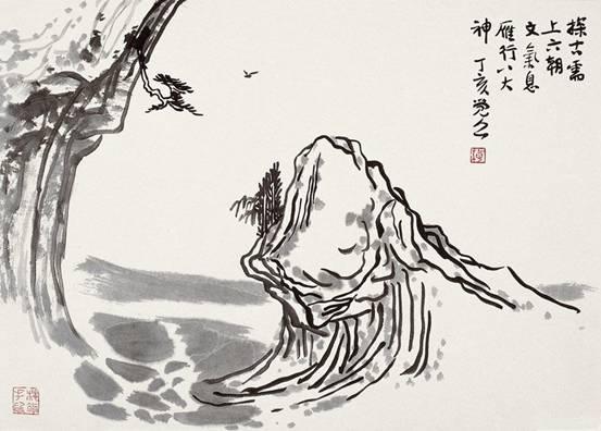 中国日报网书画艺术编者按:在浮躁的、人文情怀荒芜的时代,一个普通人不可能坐下读一篇高深的学术文章;如果一个搞艺术的人,也不能抽出时间,静静细读品味一篇有关艺术的高水平论文,是悲哀的,庸俗浅薄的,其艺术生命必因失去传统文化素养而迅速枯萎。这篇文章,作者用东方哲理和理趣来观照国画艺术,高屋建瓴,洞达幽微,给我们深刻启示。  梅墨生图明月孤山处士家  我一直认为艺术这个东西是没法教的,更多应该是一种自我的揣摩。当然,大家就会问既然如此,还要那些艺术院校干什么。艺术虽然没法教,但是可以引导,可以启发,可以给人
