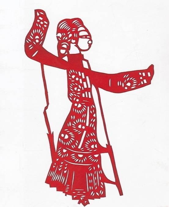 陕西是民间剪纸盛行的一个省,其中以陕北的定边、靖边、吴堡、榆林、宜川、米脂、延安,关中的凤翔、富平、三原、朝邑,陕南的汉中附近等地较为丰富。窗花,是陕西剪纸最多的一种,此外,婚娶时的装饰,枕头顶子、鞋花和刺绣花样等,也是以剪纸为底样。陕北地区的人们大都住窑洞,装饰着大团花,窗上装饰烟格子,这一带的剪纸淳厚、粗壮、线条有力,剪纹简单。个别地方如定边、靖边等的剪纸也有较细致的,线条多直线,流利奔放。宜川的剪纸线条粗而曲线多。关中地区的剪纸一般较细致而曲线多,如岐山、凤翔一带有的线条细似针尖,风格别致;朝邑一