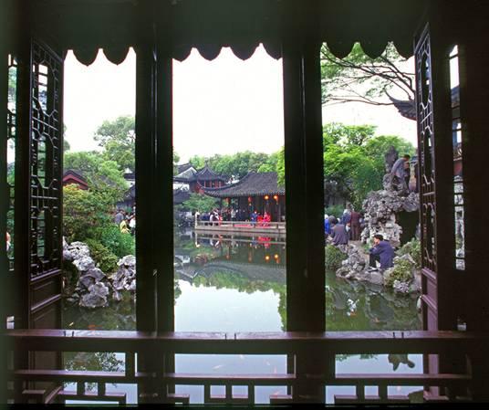 凝固的诗—苏州园林的花窗
