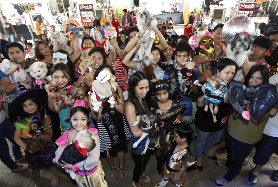 Pets halloween costume competition in Philippines  sc 1 st  China Daily & Pets halloween costume competition in Philippines[6]- Chinadaily.com.cn