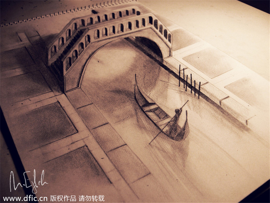 new views amazing 3d pencil drawings 2