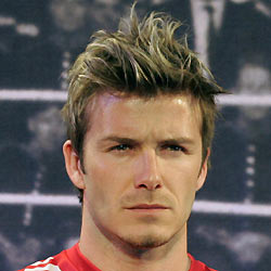 Beckham I Cried When Man Utd Sold Me - Beckham hairstyle ferguson