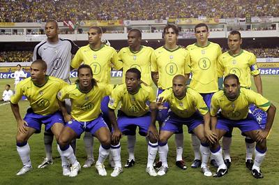 Brazil Hat National Soccer Team Licensed Cap Yellow