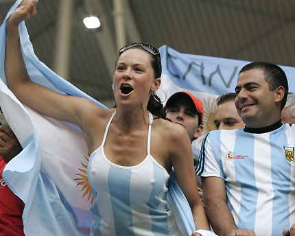 Brasil enfrentará o frio e a torcida argentina