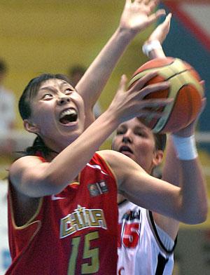 Republic in basketball Czech women