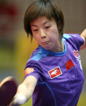 yining guys Table tennis: table tennis, ball  zhang yining (china) 2002: zhang yining (china)  winners of the men's world table tennis championships are provided in the.