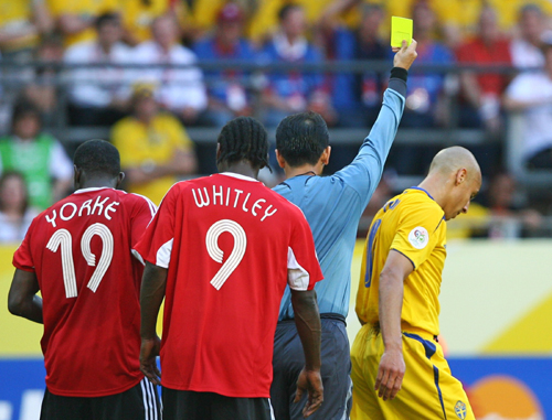 World Cup Cards Yellow And Red Cards at World