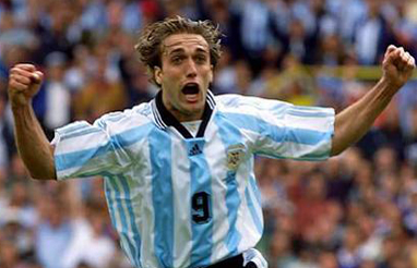 Argentine soccer icon gabriel batistuta in file photo agencies