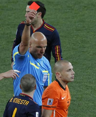 World Cup final referee Webb has no regrets