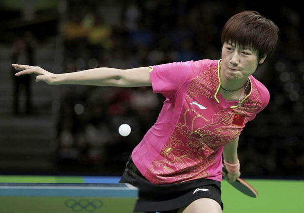 Ding sets up All-Chinese final in Olympics with win over DPRK ...