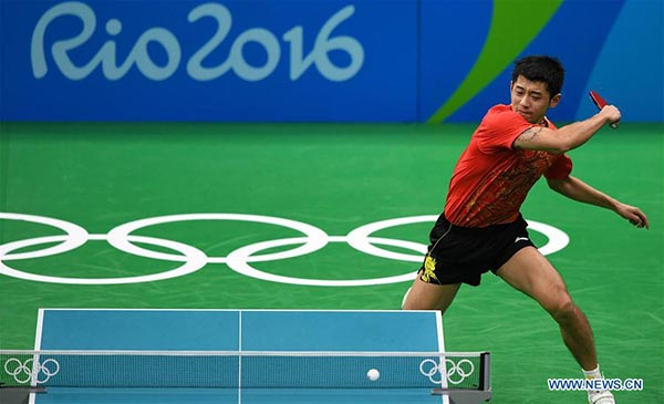 Zhang Jike, Ma Long set up all-Chinese final in Rio 2016 table ...