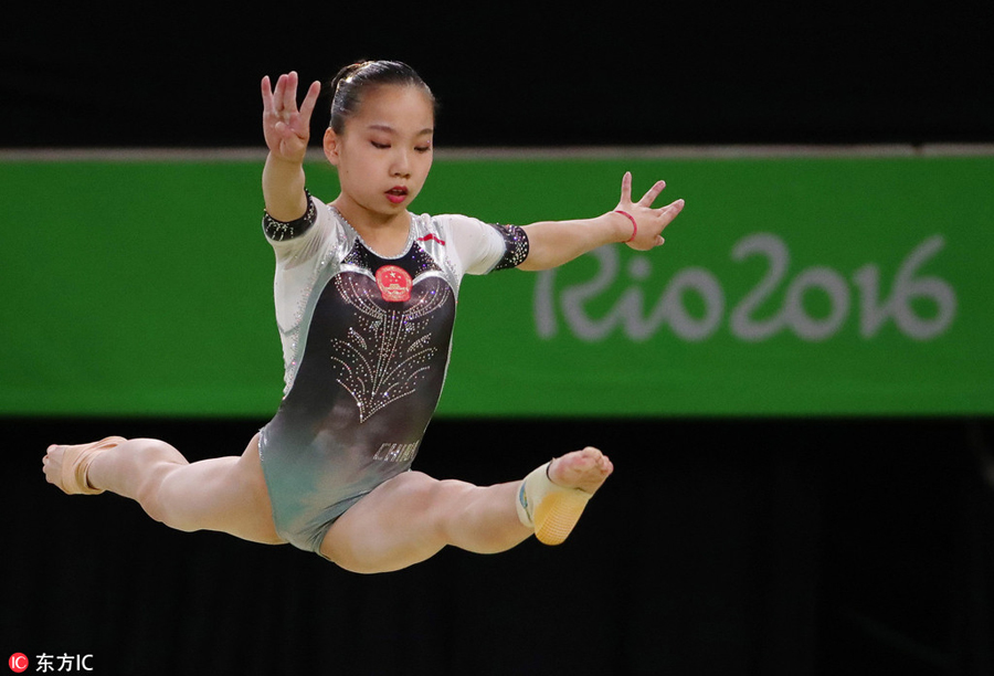 real chinese gymnast