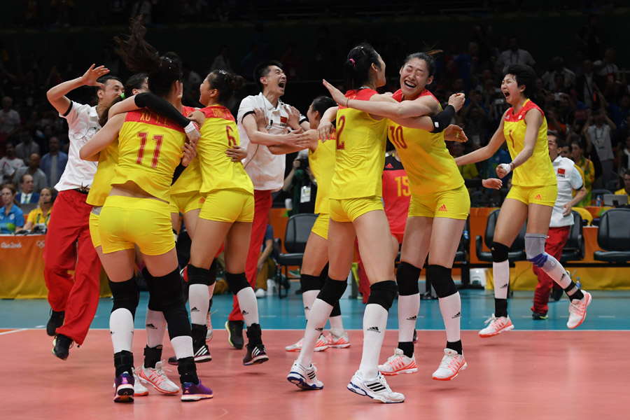 China wins women's volleyball gold after 12 years[1 ...