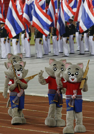 SEA Games open in Thailand