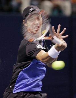 Roddick blasts past Japanese teen in San Jose