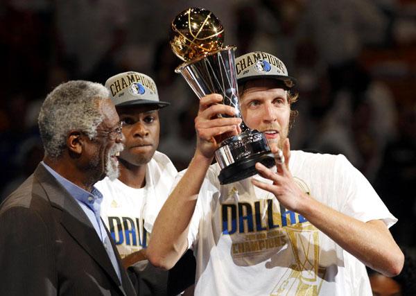 Mavericks Nowitzki Named NBA Finals MVP