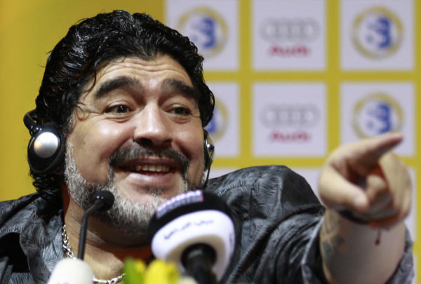 player in the uae league but maradona thinks the uae national