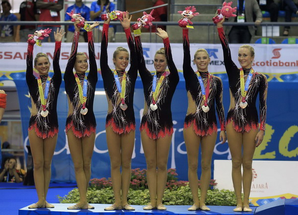 Gymnasts compete at pan american games other sports chinadaily com cn