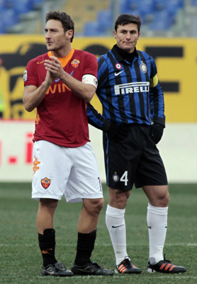 Borini helps Roma to thrash Inter Milan |Other Sports |chinadaily ...