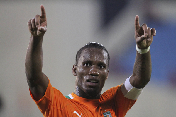 didier drogba war between two nation