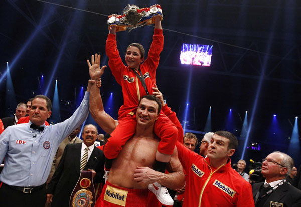 Vitali will fight Haye after brother's win |Other Sports