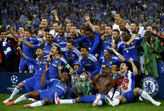 Drogba Fires Chelsea To Champions League Glory