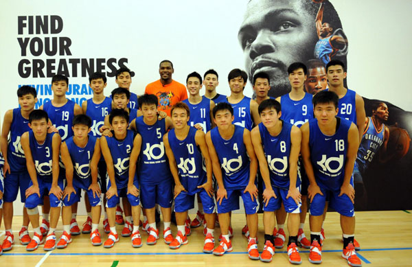 Durant Coaches Young Players In Hong Kong 3 Chinadaily Com Cn