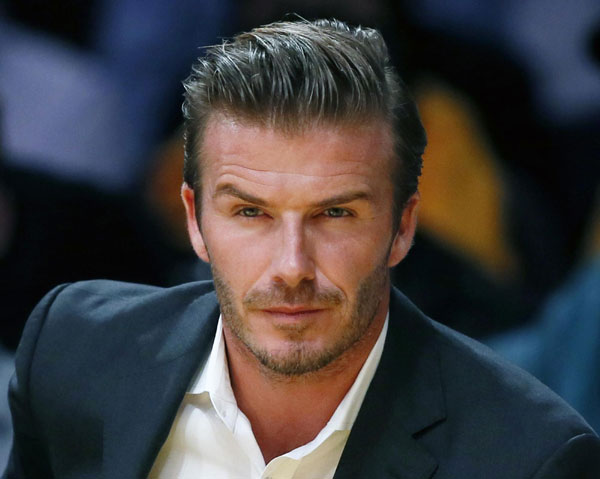 Beckham To Quit LA Galaxy After MLS Cup Final Sports - David beckham hairstyle la galaxy