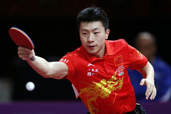 Chinese stars all advance at table tennis worlds[1]- Chinadaily.com.cn